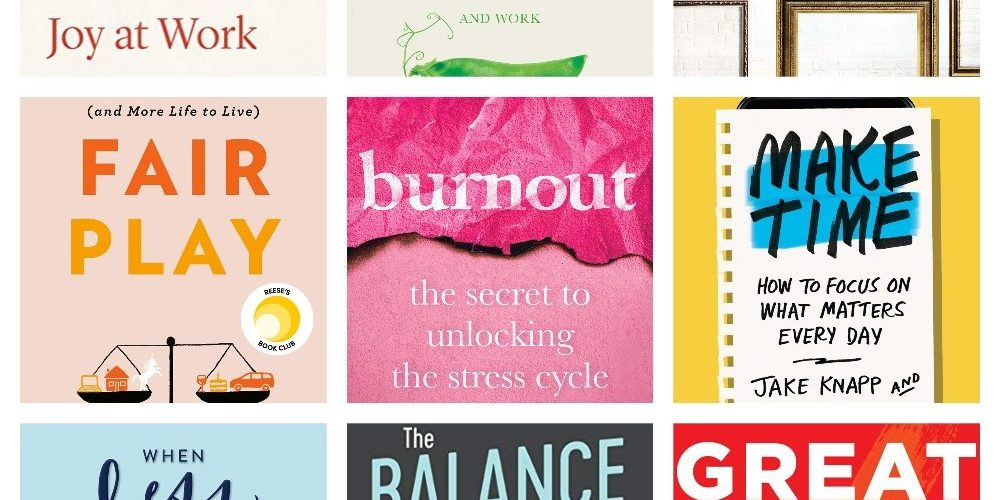 10 Books to Read in 2020 to Help You With Your Work-Life Balance