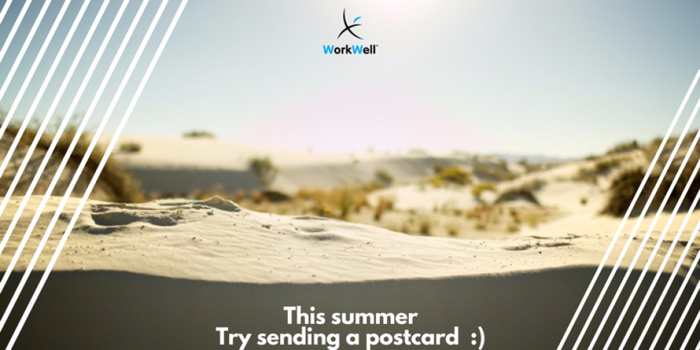 This Summer, try sending a postcard :)