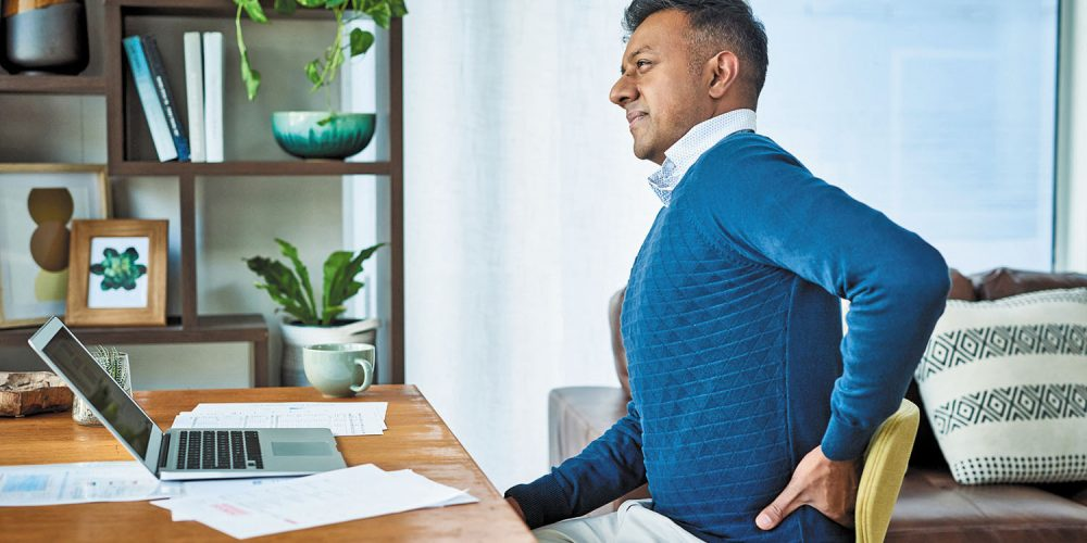 """""""Pandemic posture"""" hurting your back? You can fix it!"""